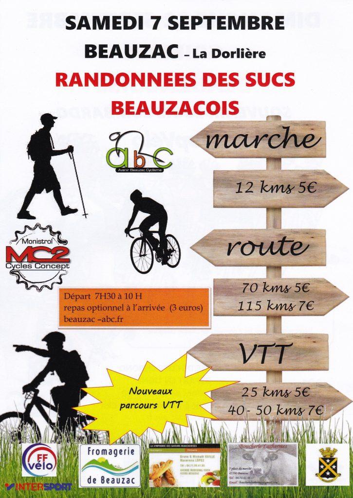 Rando des Sucs Beauzacois @ La Dorlière   Beauzac   Auvergne-Rhône-Alpes   France