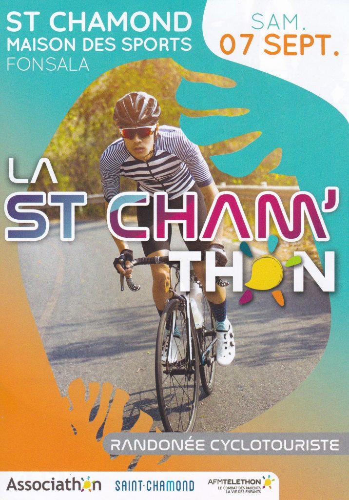 La St Cham'Thon @ Maison des Sports à Fonsala | Saint-Chamond | Auvergne-Rhône-Alpes | France