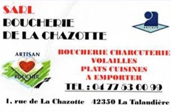 Boucherie La Chazotte